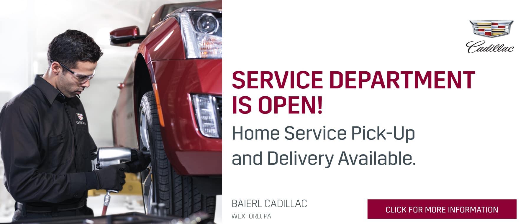 Service Department Open HS