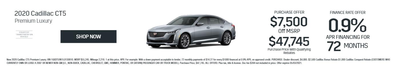 CT5 Premium Luxury