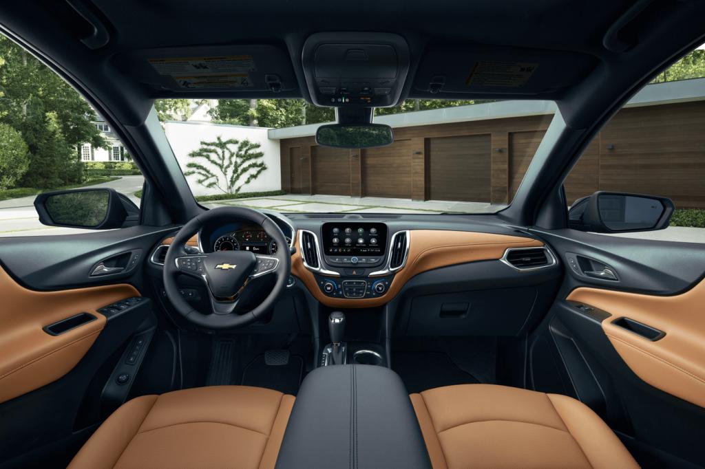 Chevy Equinox Interior Comfort