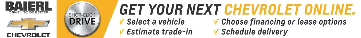 Chevy Online Banner