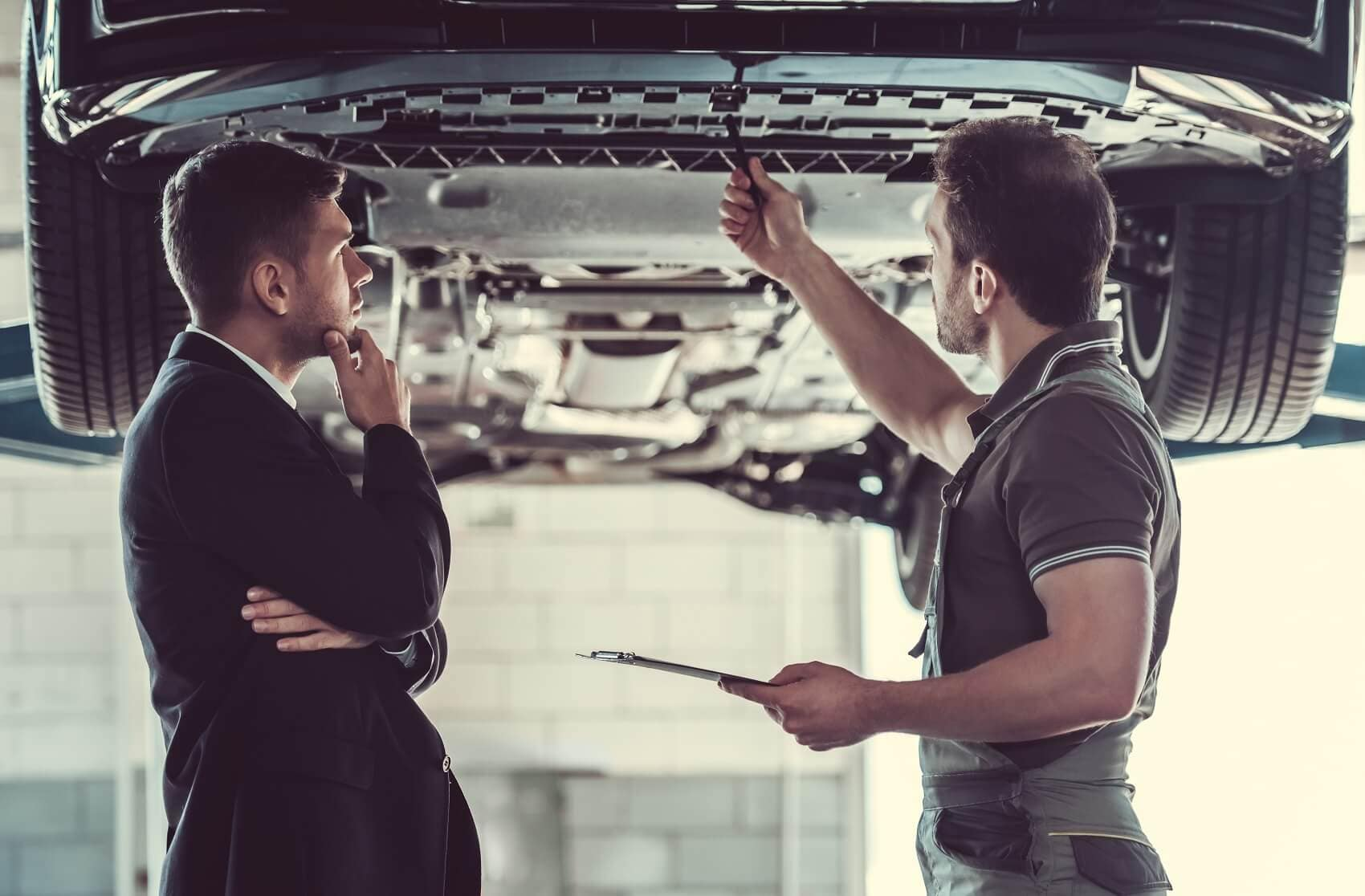 VISIT OUR CHEVY SERVICE CENTER