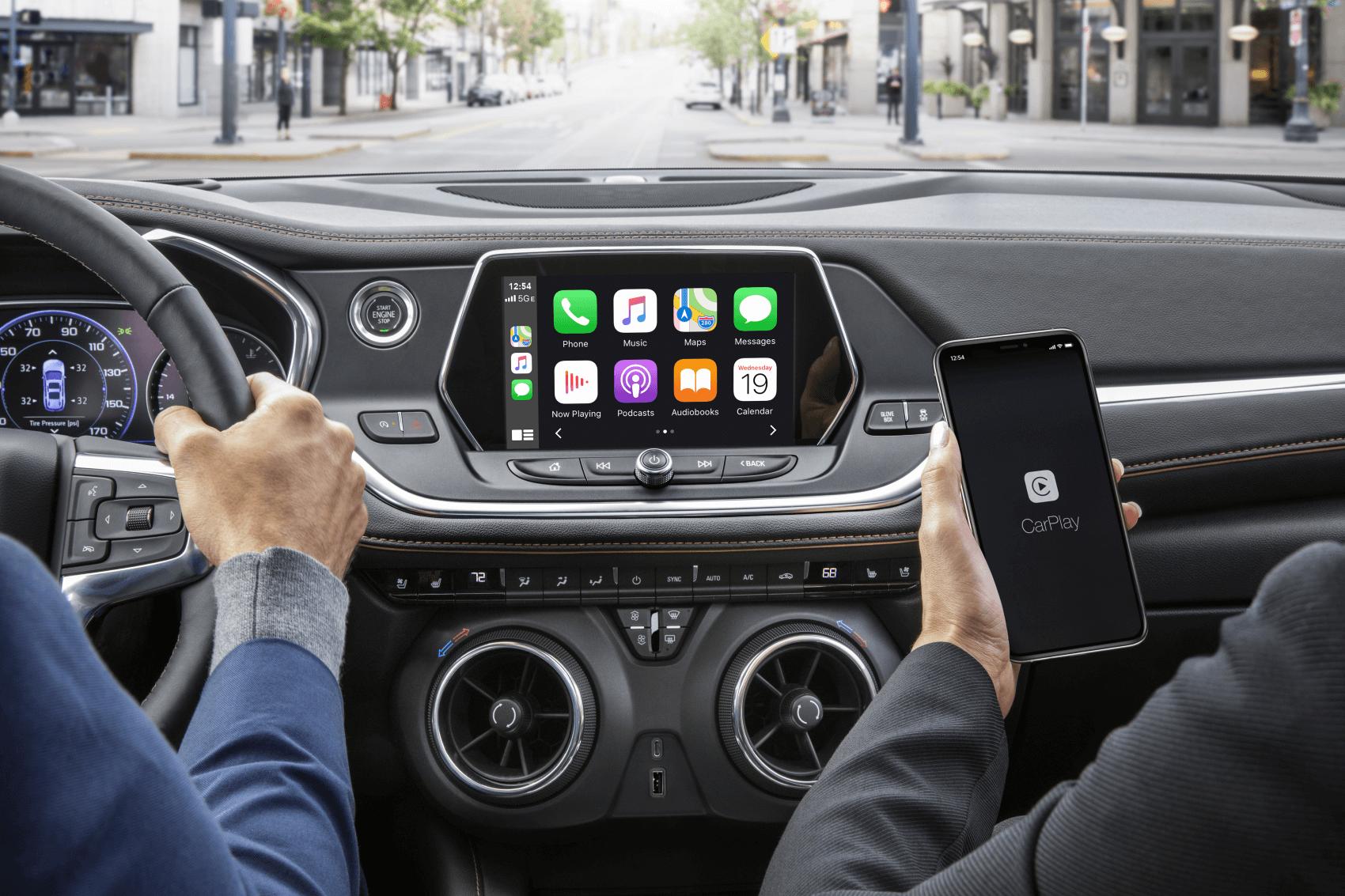 2021 Chevy Blazer Interior Tech