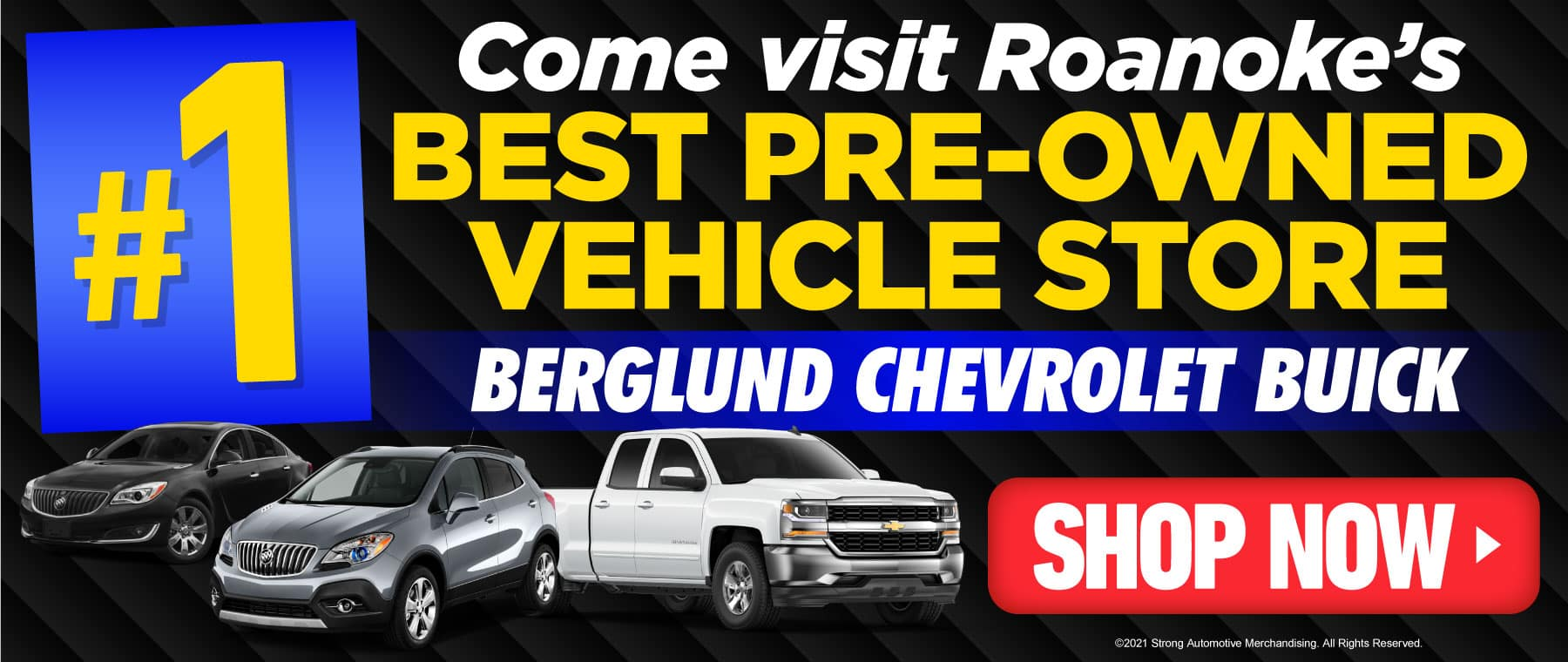 Come visit Roanoke's best pre-owned vehicle store - Click to Shop NOW