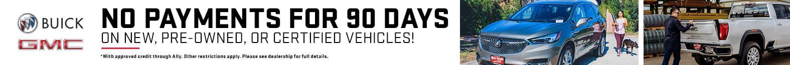 No Payments For 90 Days At Bert Ogden Buick GMC | Edinburg, TX
