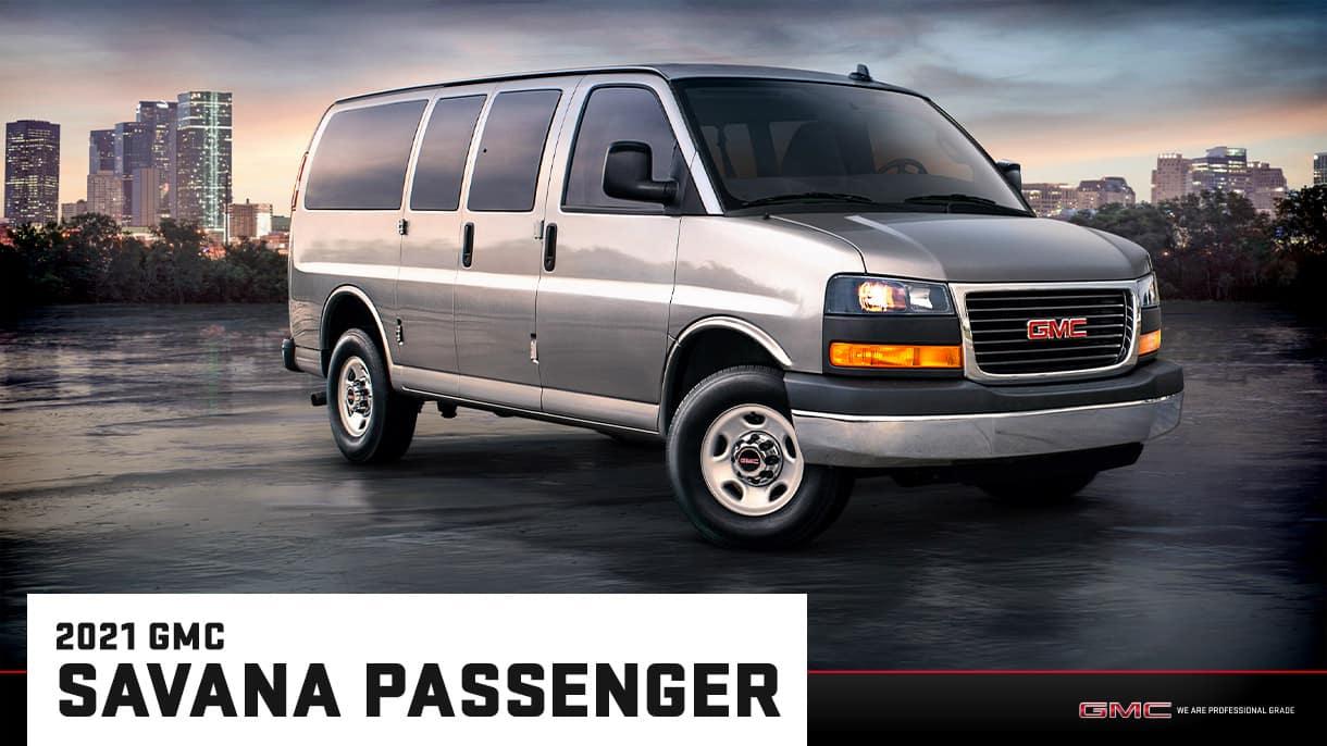 2021 GMC Savana Passenger Van | Bert Ogden Buick GMC | Edinburg, TX