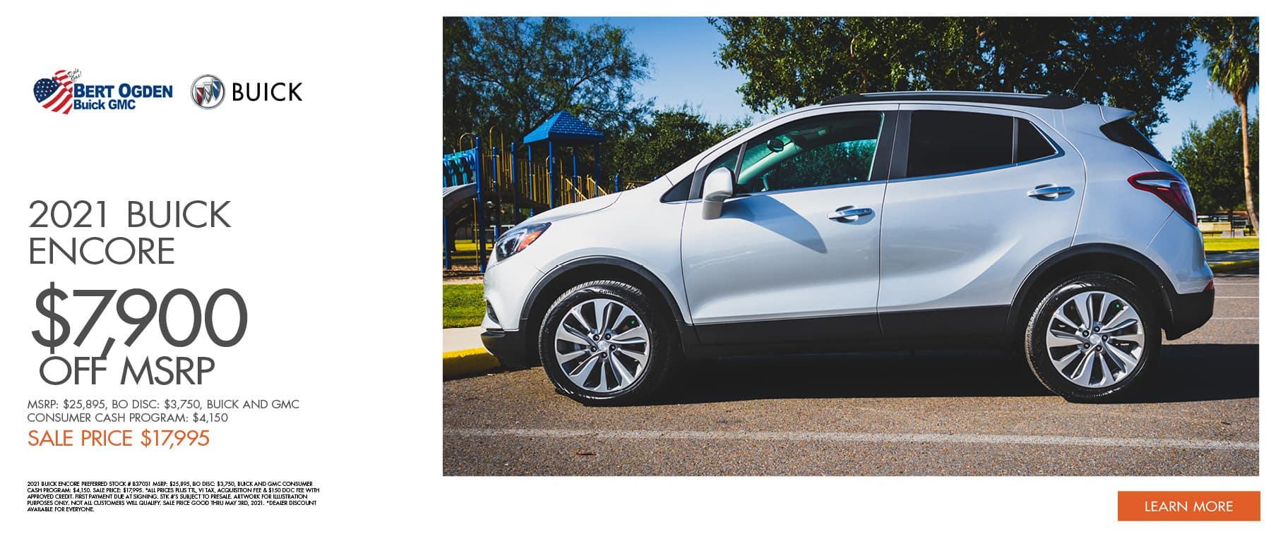 2021 Buick Encore | Bert Ogden Buick GMC | Edinburg, TX