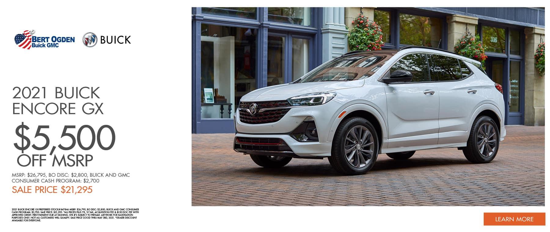 2021 Buick Encore GX | Bert Ogden Buick GMC | Edinburg, TX
