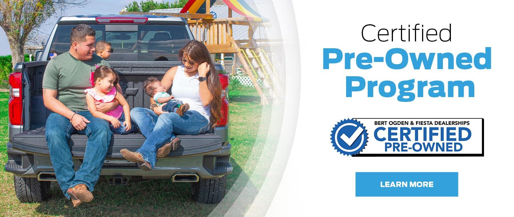 Certified Pre-Owned Program | Bert Ogden Buick GMC | Edinburg, TX