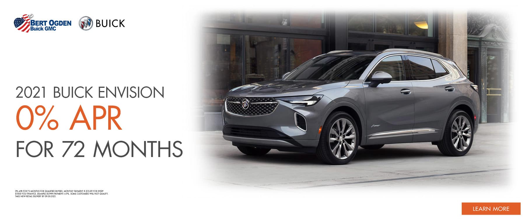2021 Buick Envision Offer | Bert Ogden Buick GMC in Edinburg, Texas