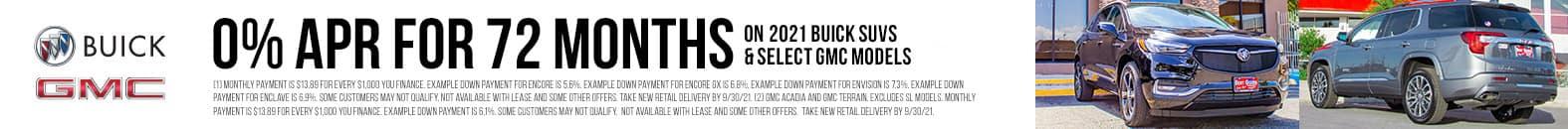 0% APR For 72 Months | Bert Ogden Buick GMC | Edinburg, TX