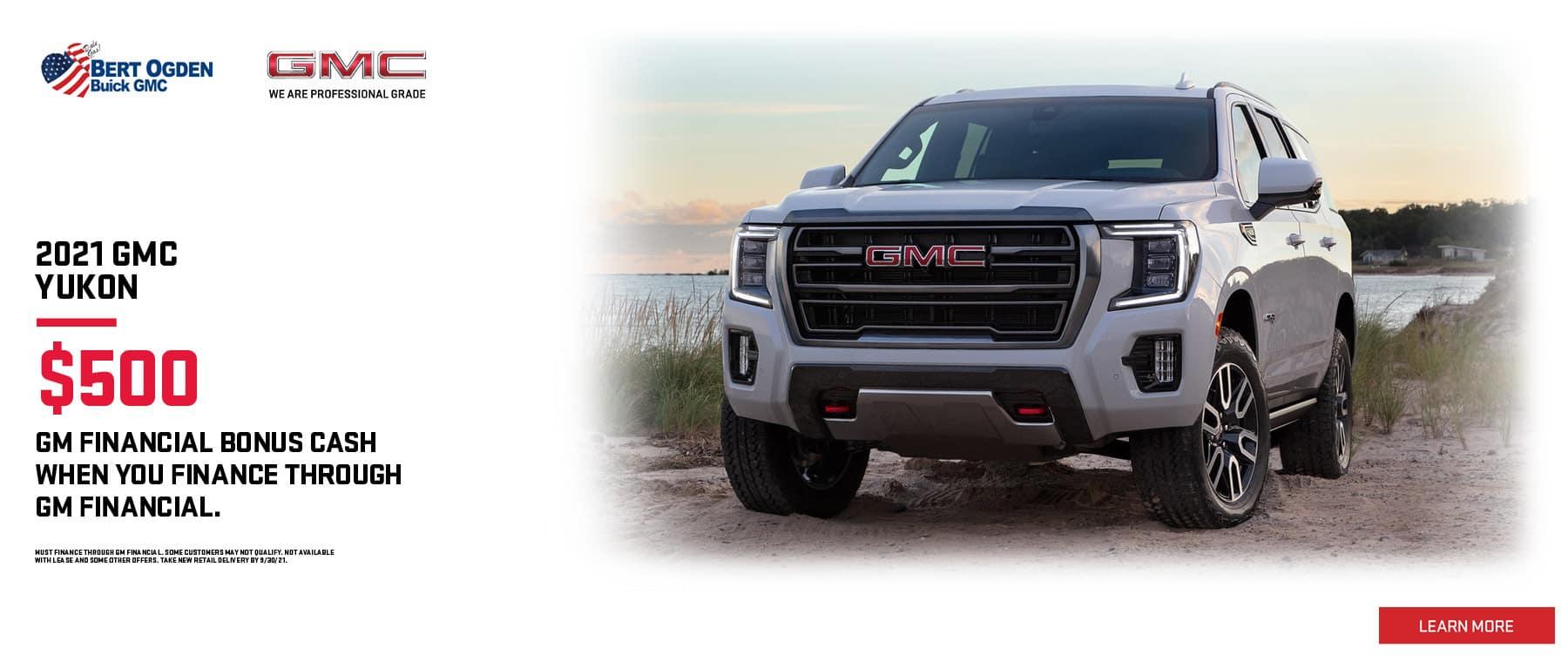 2021 GMC Yukon Offer | Bert Ogden Buick GMC in Edinburg, Texas