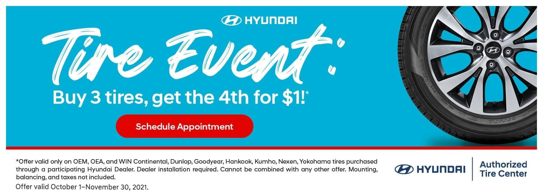Tire Event: Get 3 Tries, get the 4th for $1