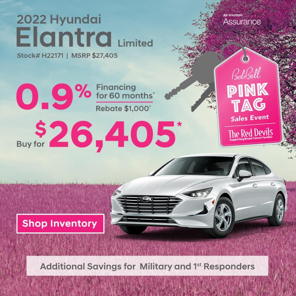 2022 Hyundai Elantra Limited