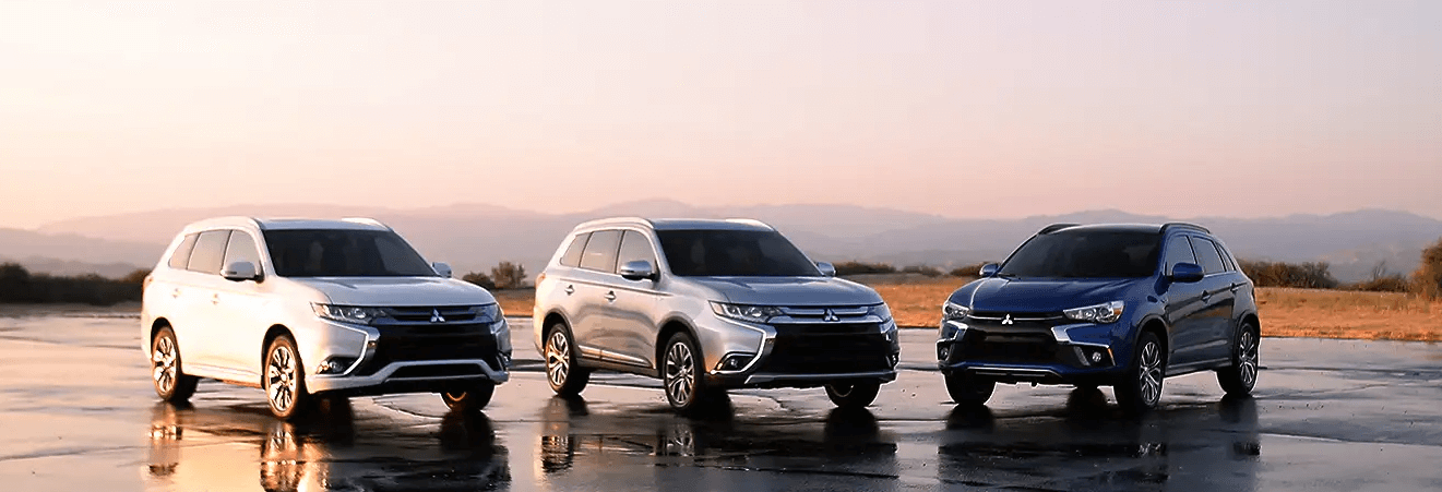 Mitsubishi SUV Lineup with Eclipse Cross, Outlander and Outlander Sport