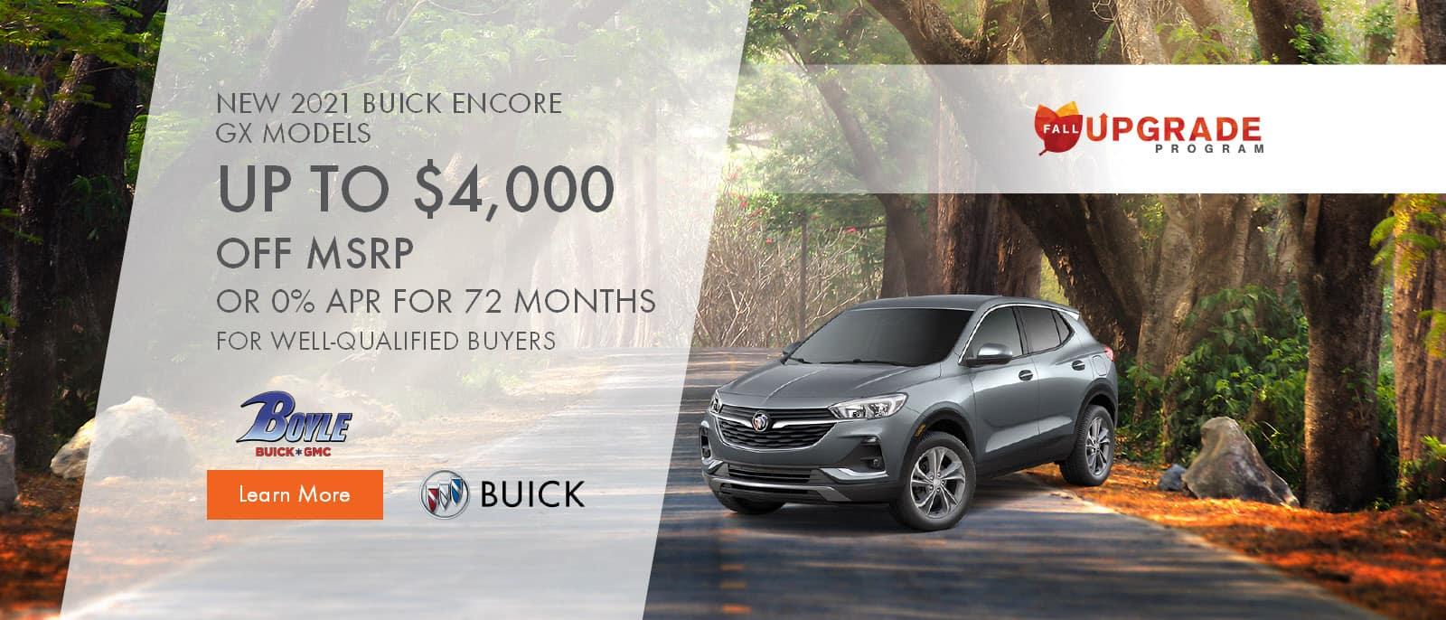 2021 Buick Encore GX Models
