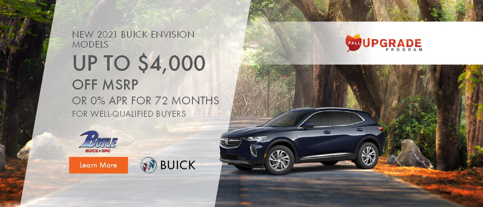 2021 Buick Envision Models