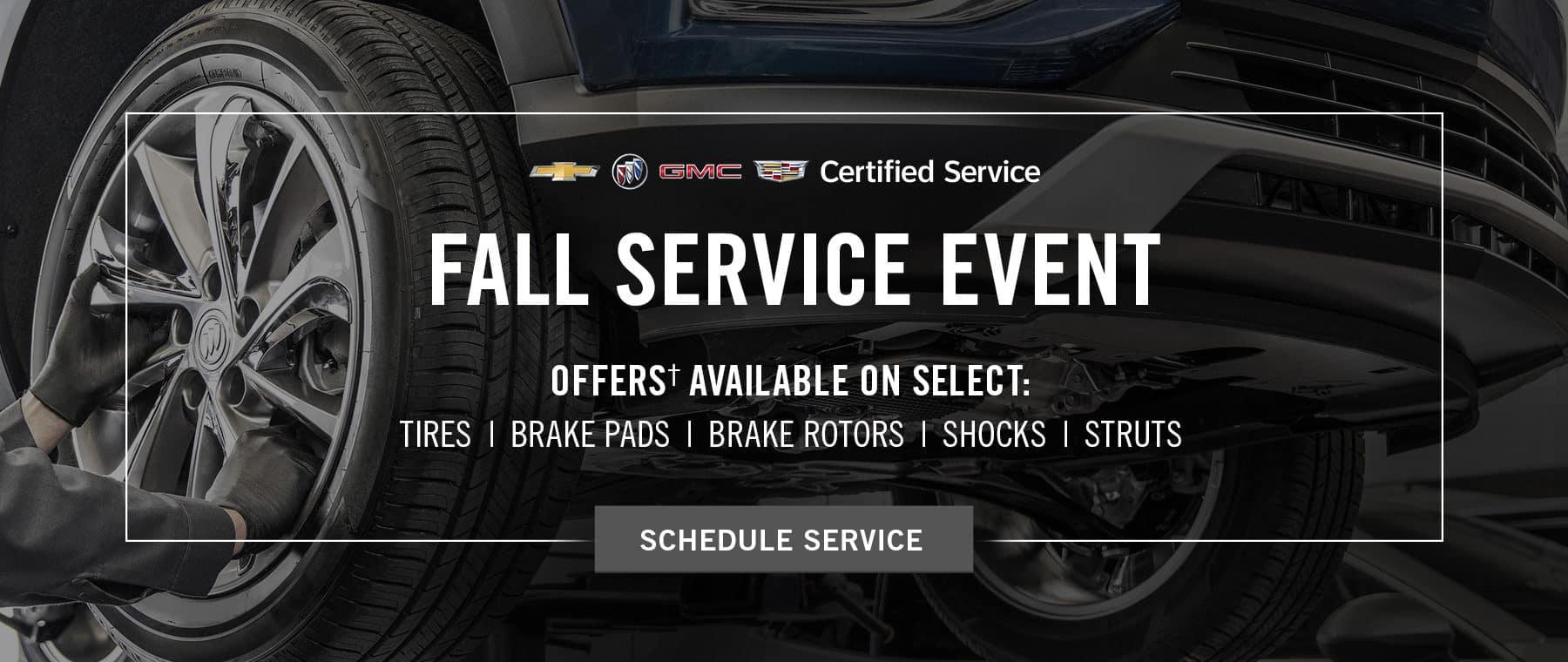 Fall Service Tire Event