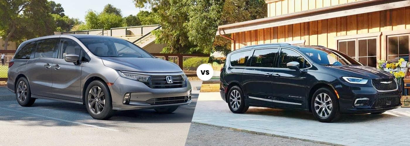 2022 Honda Odyssey vs Chrysler Pacifica