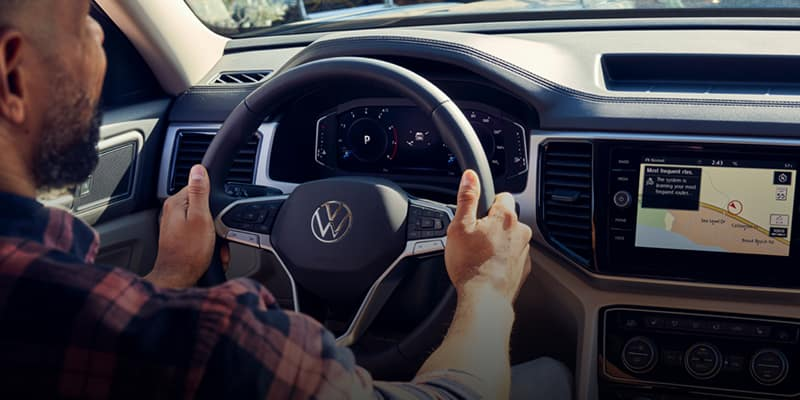 Inside VW Car