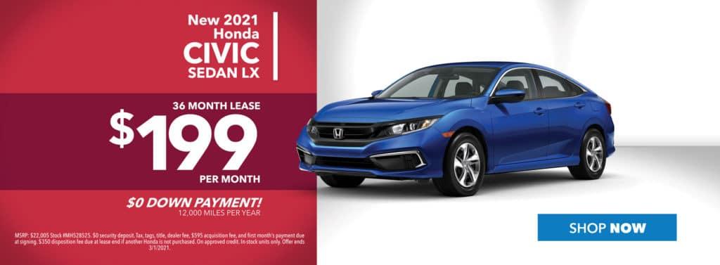 New 2021 Honda Civic