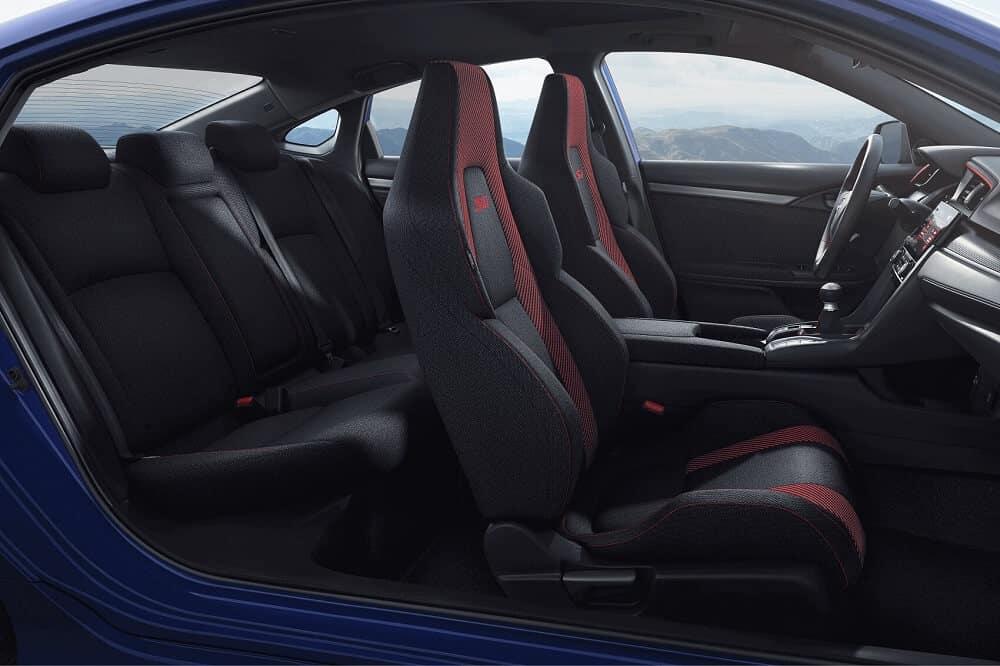 Honda Civic Interior Space