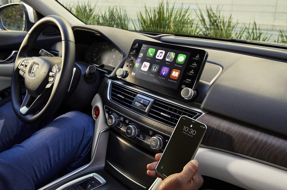 Honda Accord Interior Apple CarPlay™ Technology