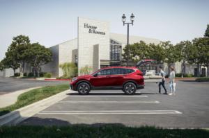 2021 Honda CRV Parking