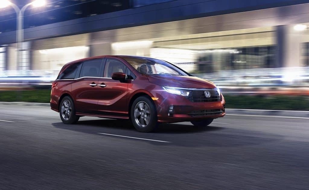 Honda Odyssey Engine Specs