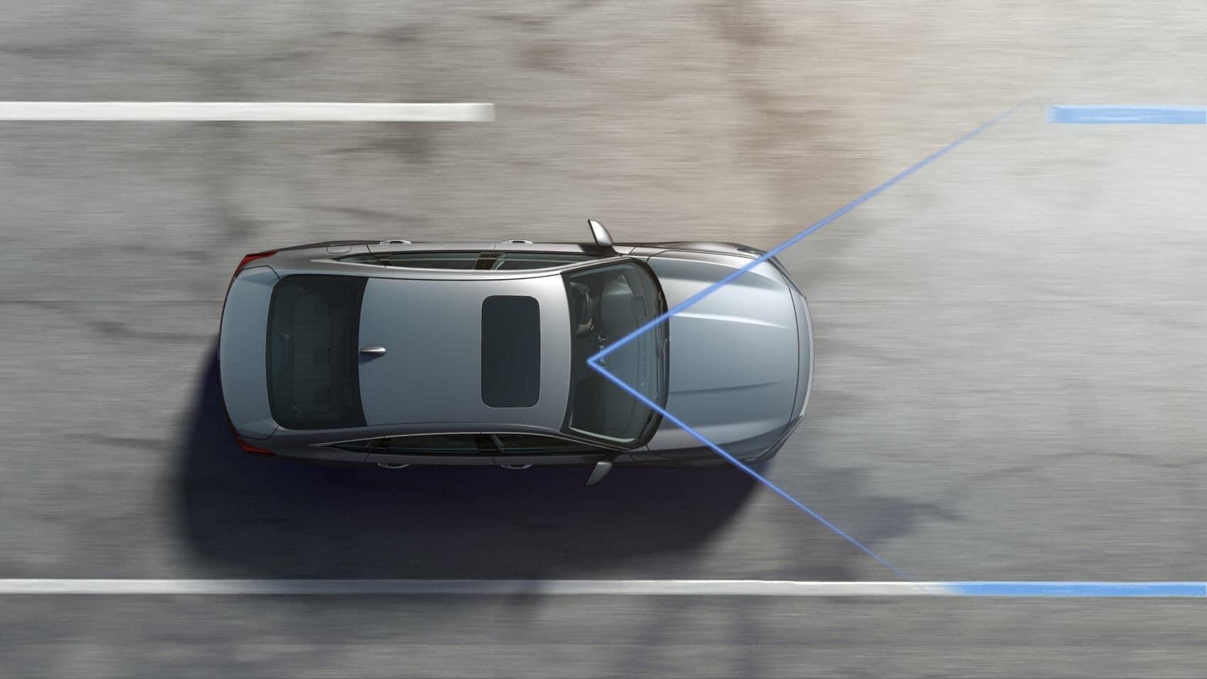 Honda Accord driving while using Honda Sensing®