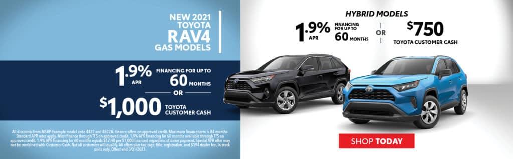 2021 RAV4 Offers