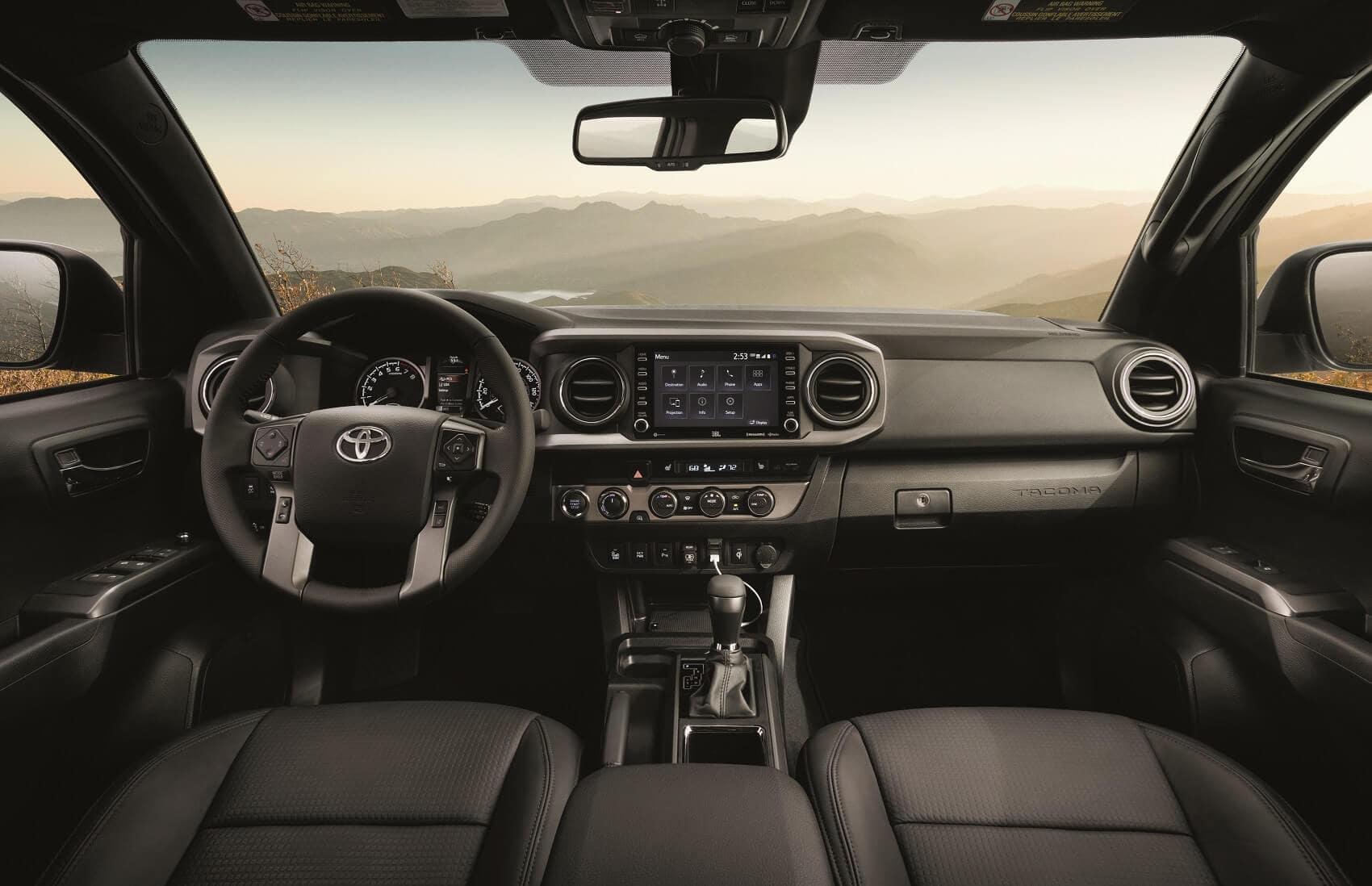 Toyota Tacoma Interior Features