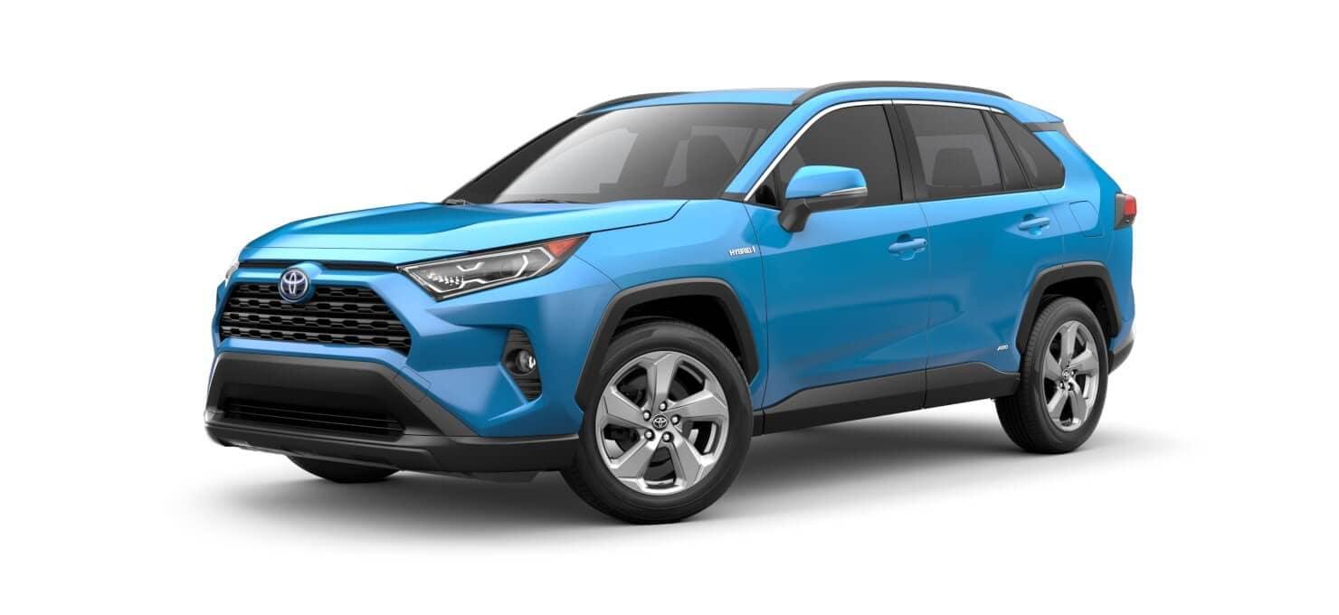 Toyota SUVs RAV4 Hybrid