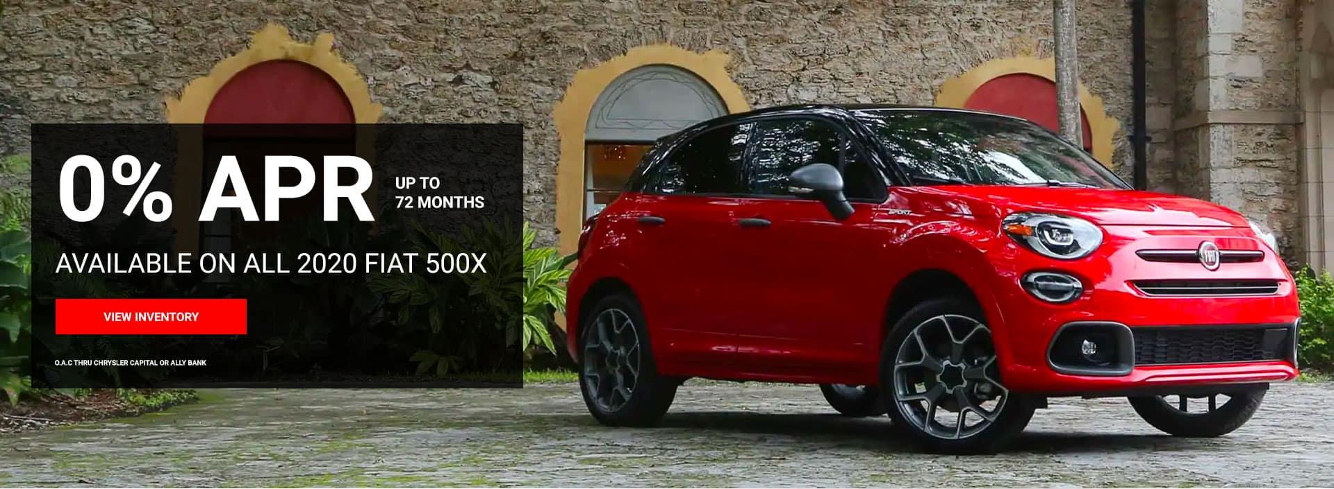 Fiat 500X 0% APR