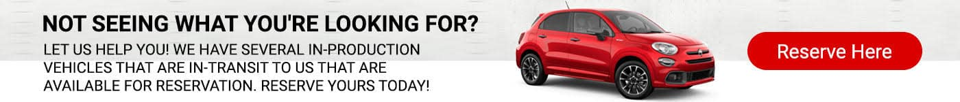 Reserve Your Fiat
