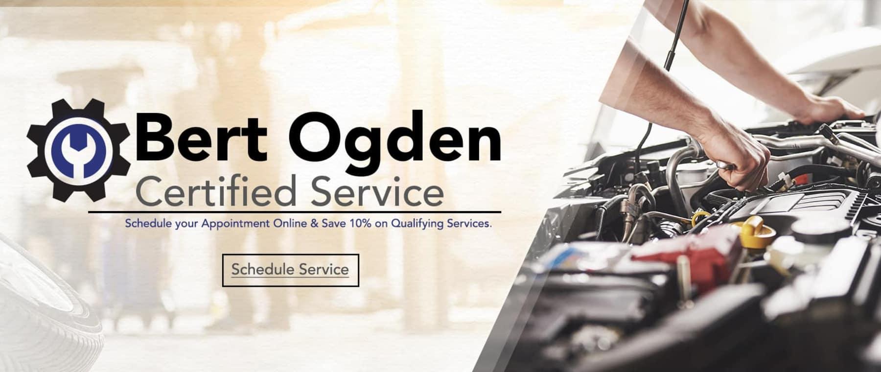 Bert Ogden Certified Service | Fiesta Chevrolet | Edinburg, Texas