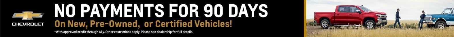 No Payments For 90 Days - Fiesta Chevrolet in Edinburg, Texas