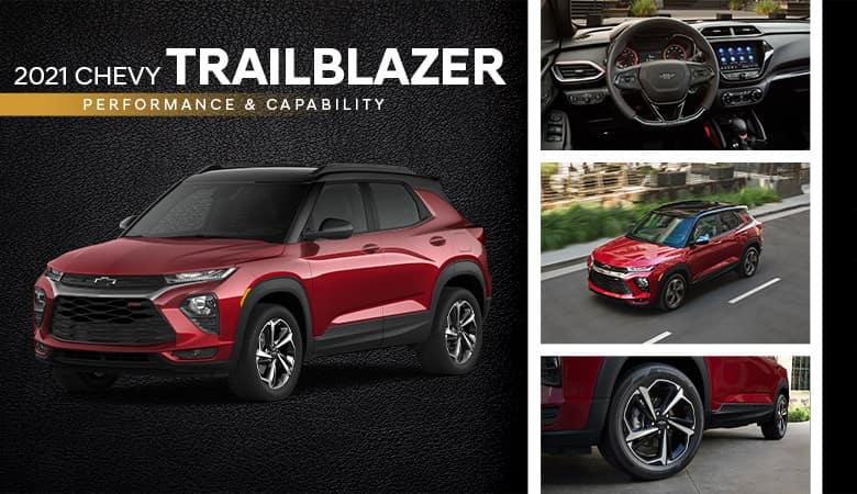 2021 Chevrolet Trailblazer Performance and Capability - Fiesta Chevrolet in Edinburg, Texas