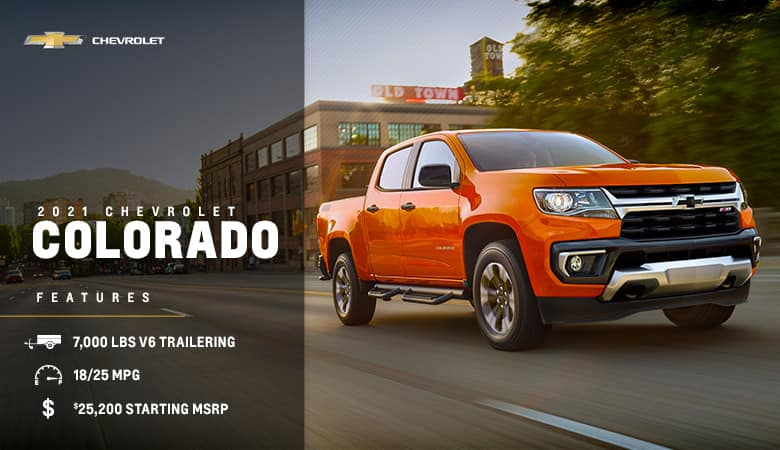 2021 Chevrolet Colorado - Fiesta Chevrolet in Edinburg, Texas