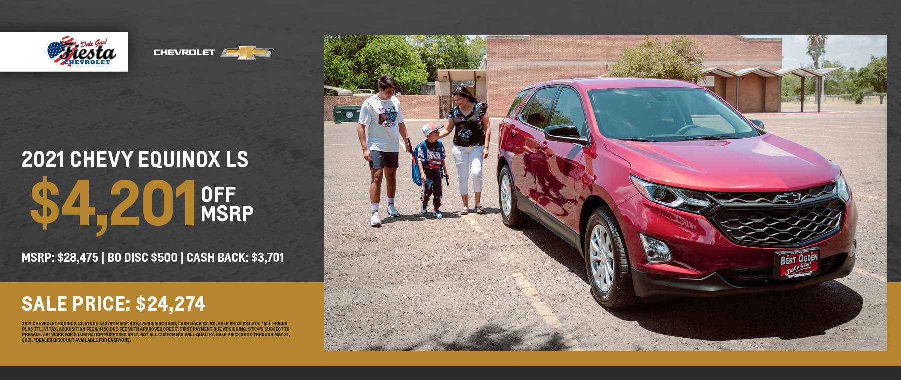 2021 Chevrolet Equinox LS - Fiesta Chevrolet in Edinburg, Texas