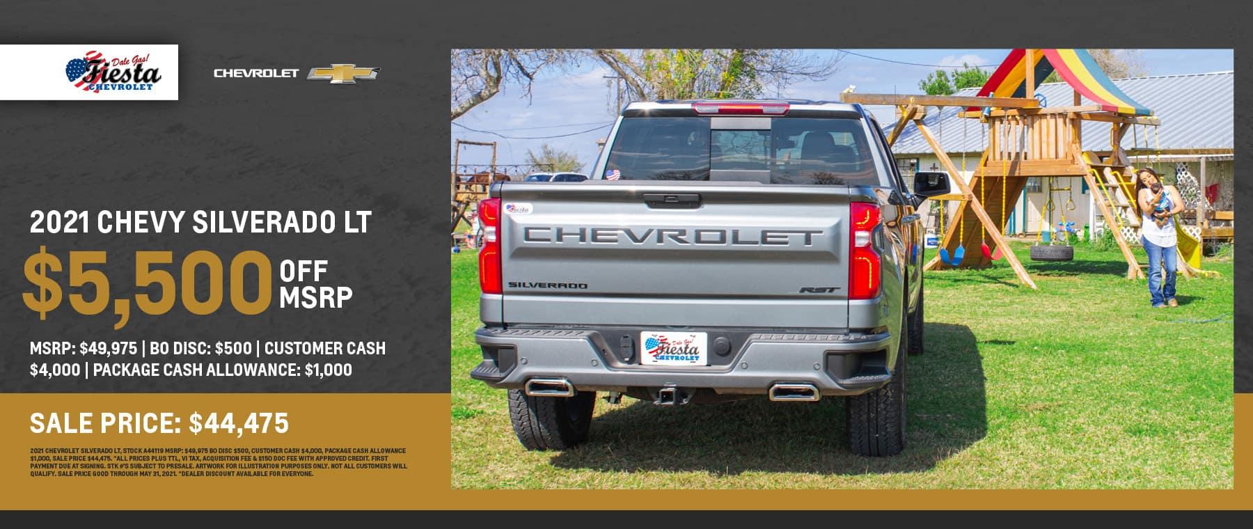 2021 Chevrolet Silverado 1500 LT - Fiesta Chevrolet in Edinburg, Texas