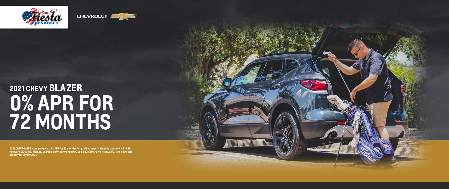 2021 Chevrolet Blazer APR Offer | Fiesta Chevrolet in Edinburg, Texas