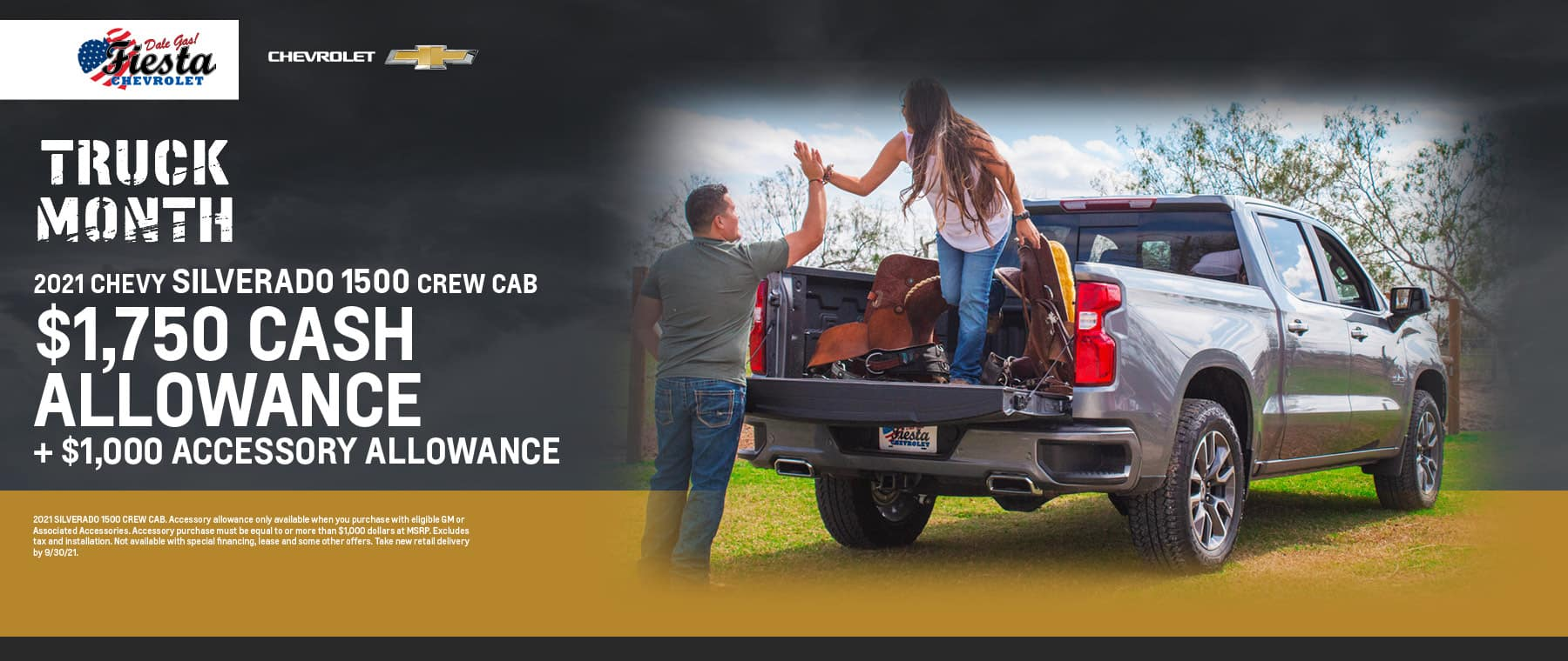2021 Chevrolet Silverado 1500 Crew Cab Offers | Fiesta Chevrolet in Edinburg, Texas