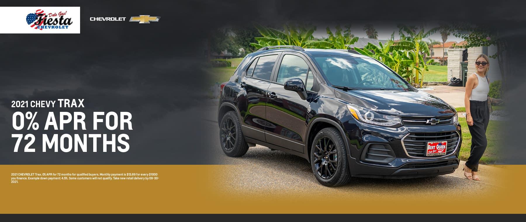 2021 Chevrolet Trax APR Offer | Fiesta Chevrolet in Edinburg, Texas