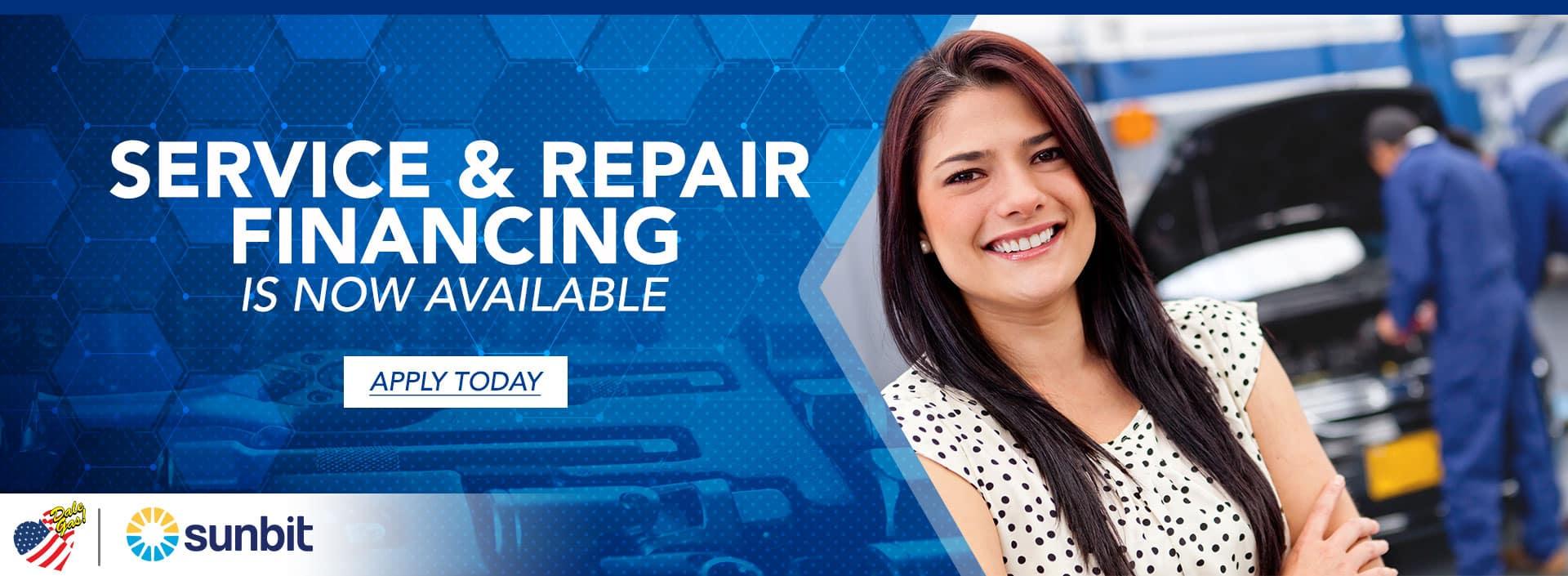 Service & Repair Financing | Fiesta Chevrolet in Edinburg, Texas