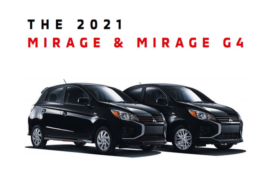 2021 Mitsubishi Mirage & Mirage G4