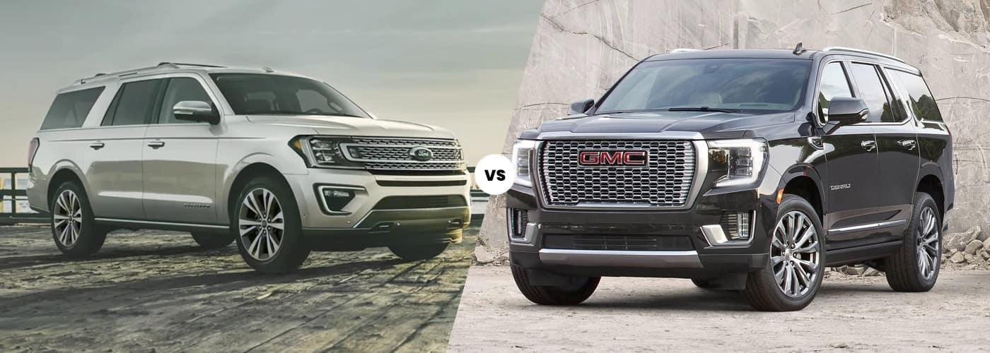 2021 Ford Expedition vs. 2021 GMC Yukon