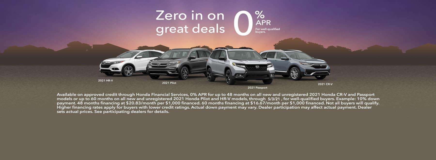 Zero in on Great deals