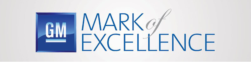 GM Mark of Excellence Logo