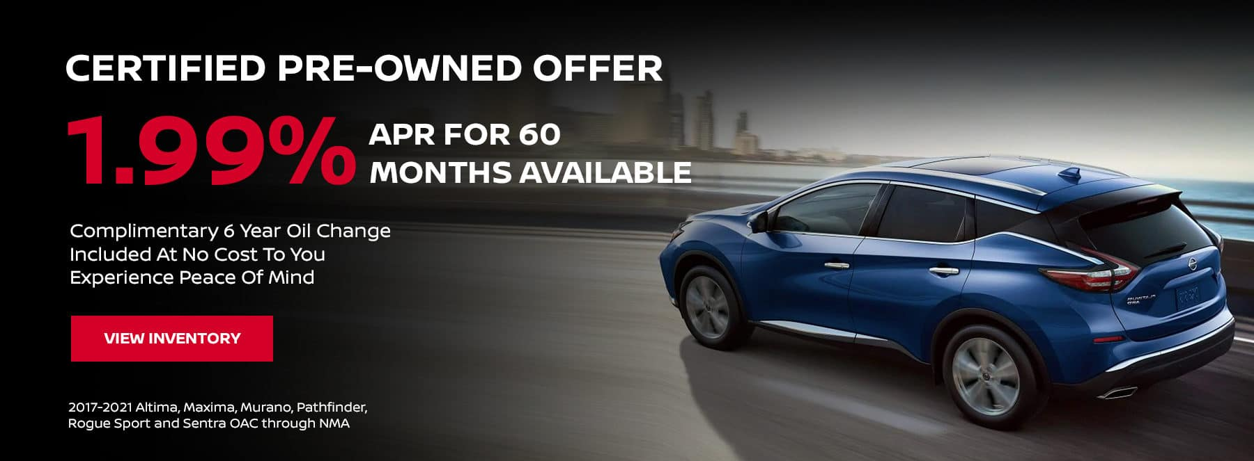 CPO Vehicle Offers