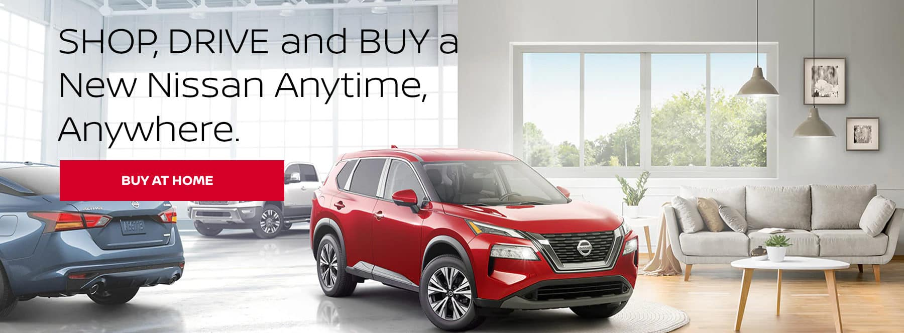 Shop, Drive, and Buy a New Nissan Anytime, Anywhere